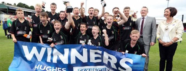 Glentoran Under 14 Winners 2014
