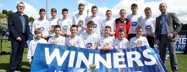 Under 14 Plate Winners Coleraine FC