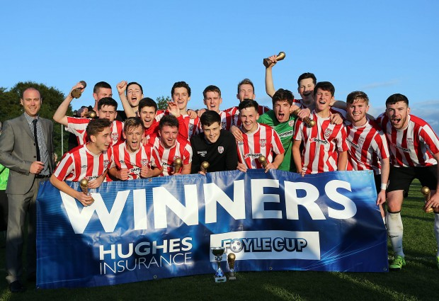 Derry City Under 19 Foyle Cup Winners