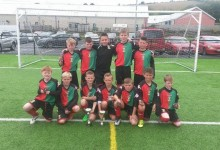 Glentoran Acad Under 11 Foyle Cup Winners