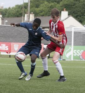 FC-FRI-U15 FINAL - Derry City v. Partick 02